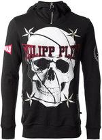 Philipp Plein skull print hoodie