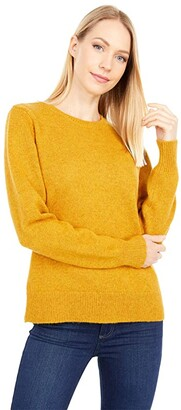 Pendleton Shetland Crew Pullover (Gold Heather) Women's Sweater