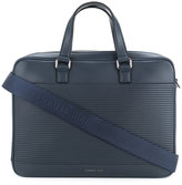 Cerruti 1881 - ridged panel briefcase - men - Calf Leather - One Size