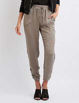 Charlotte Russe Silky Jogger Pants