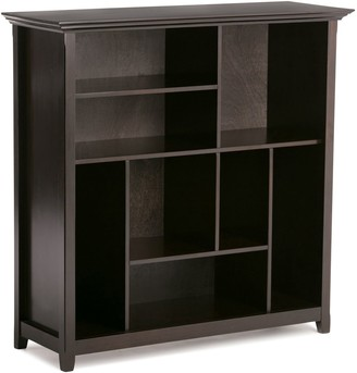 Simpli Home Amherst Transitional Multi Cube Bookcase and Storage Unit