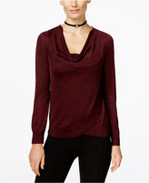 INC International Concepts Draped Metallic Sweater, Only at Macy's