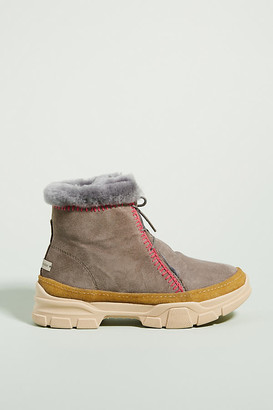 Laidback London Emre 2.0 Ankle Boots By Laidback London in Grey Size 40