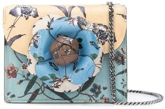 Oscar de la Renta floral print mini Tro bag