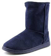 Dawgs 9 Inch Microfibre Boot Women Round Toe Synthetic Blue Ankle Boot.
