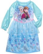 Disney Frozen Baby Girls' Anna and Elsa Long Sleeve Nightgown