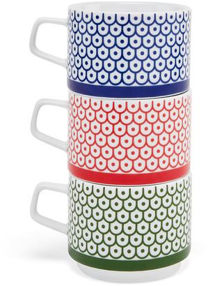 Moma Mergentime Stacking Mugs, Set of 3
