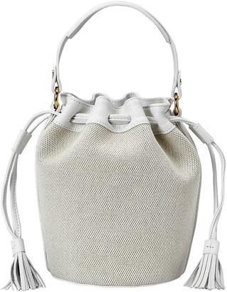 GiGi New York Genevieve Canvas Bucket Bag