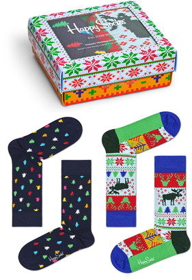 Happy Socks Assorted 2-Pack Socks