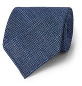 Drake's - 8cm Puppytooth Wool And Silk-blend Tie