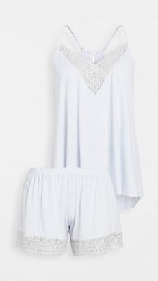 Flora Nikrooz Knit Cami & Tap Shorts Pajama Set