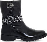 Lelli Kelly Kids Ann anklet patent-leather boots 6-10 years