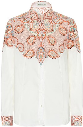 Etro Paisley stretch-cotton shirt