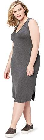 35710166e0e Charcoal Plus Size Dress - ShopStyle