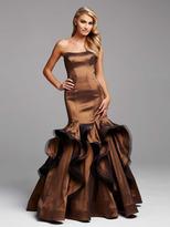 Mac Duggal Couture - 48435 in Mocha