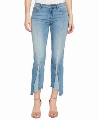 William Rast Womens Blue Color Block Flare Jeans US Size: 26 Waist