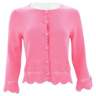 Tibi Pink Cotton Knitwear