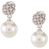 Nadri Faux-Pearl Drop Earrings