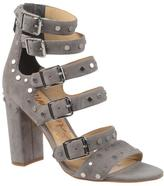 "Sam Edelman York"" Studded Suede Buckled Sandal"