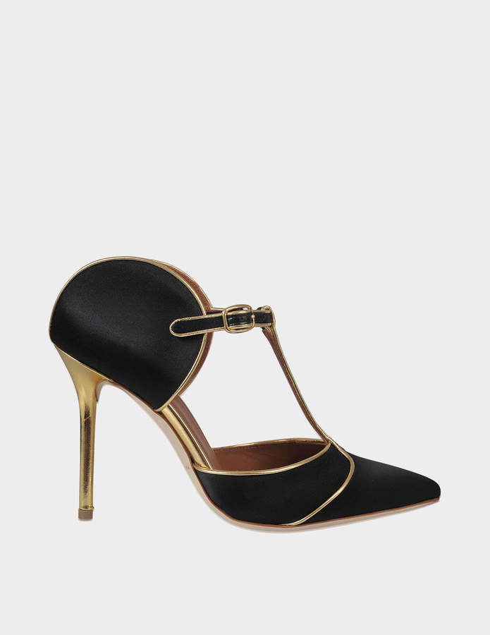 Malone Souliers Imogen satin mules
