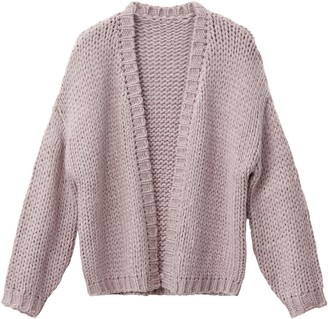 La Redoute Collections Loose Fit Cardigan, 10-16 Years