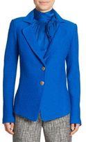 St. John Clair Knit Peplum Jacket