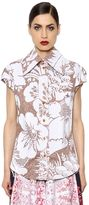 Vivienne Westwood Flowers Printed Cotton Poplin Shirt