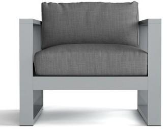 Granham Deep Seating Patio Chair with Sunbrella Cushions Brayden Studio