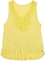 Pepe Jeans Vest Top with Macram Detail at the Neckline