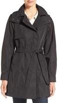Kristen Blake Women's Water Repellent Trench Coat