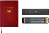Sloane Stationery Paint the Town Pocket Notebook & Clever Pencils