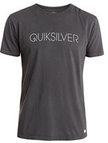 Quiksilver Men's Garment Dyed Short Sleeve Thinner T-Shirt