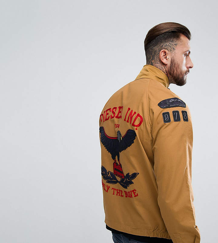 Diesel Field Jacket Eagle Embroidery