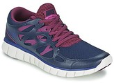Nike FREE RUN 2 EXT women's Shoes (Trainers) in Blue