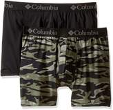 Columbia Men's 2-Pack Camouflage Performance Stretch Boxer Brief