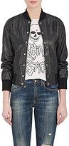R 13 Women's Leather Varsity Jacket