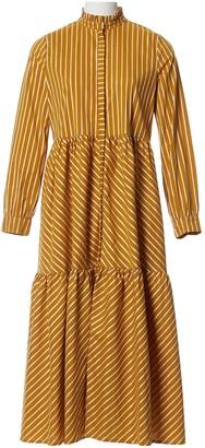 Gestuz Yellow Cotton Dresses