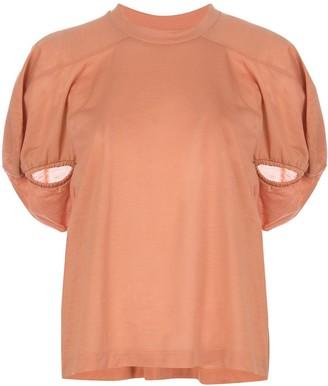 Marques Almeida puff sleeve T-shirt