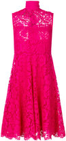 Valentino sleeveless lace dress - women - Silk/Spandex/Elastane - 40