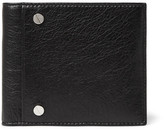 Balenciaga Arena Creased-leather Billfold Wallet - Black