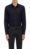 Giorgio Armani Men's Cotton Broadcloth Shirt