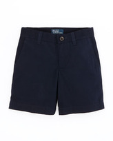 Ralph Lauren Preppy Twill Shorts, Aviator Navy, 2T-3T