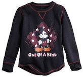 Disney Mickey Mouse Long Sleeve Thermal Tee for Boys
