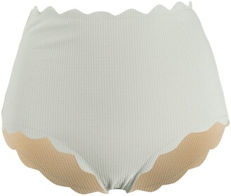 Marysia Swim Santa Monica high-waist bikini bottoms