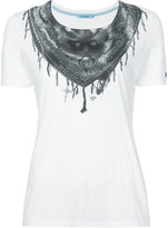 GUILD PRIME bandana printed T-shirt - women - Cotton/Rayon - 34