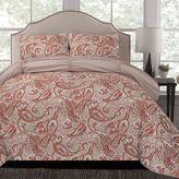 Thro Arizona Microfiber Reversible Twin/Twin XL Comforter Set in Pink