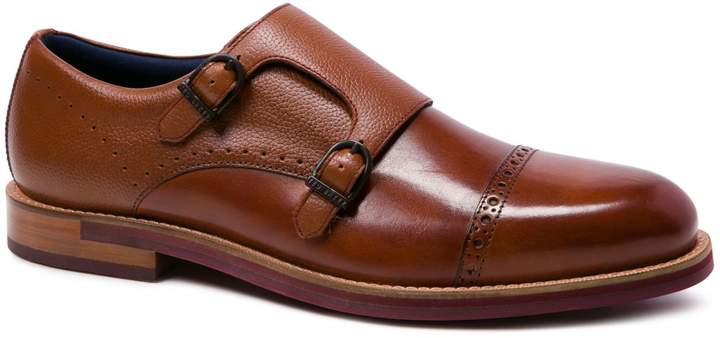 Ted Baker Ramink Double Monk-Strap Leather Oxfords
