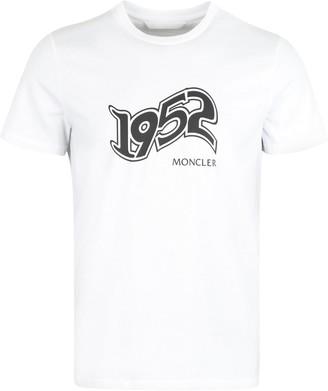 Moncler Printed Cotton T-shirt