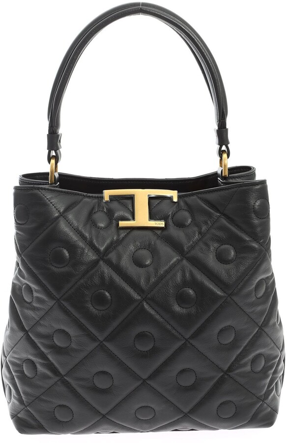 Thumbnail for your product : Tod's Quilted Bucket Bag