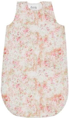 Bonpoint Joujou floral cotton bunting bag